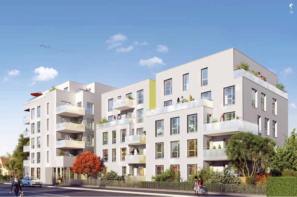 Offres programmes neufs appartement type 3 de 54m villeurbanne 69100 - Appartement type 3 definition ...